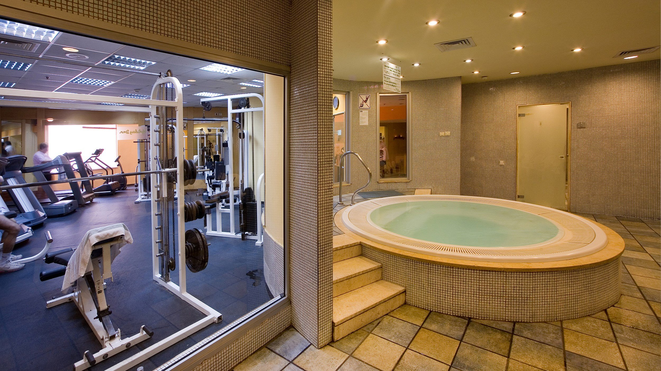 Harlington Ashkelon - Gym and Tub