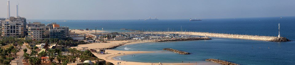 Harlington Ashkelon - Mediterranean beach and Mari